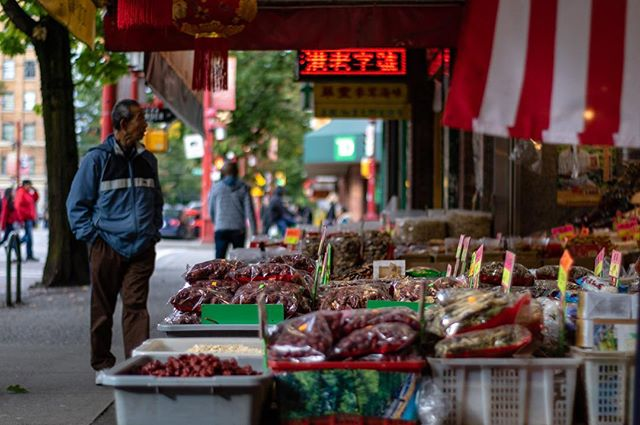 Chinatown, Vancouver, September 2018