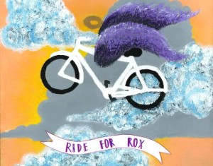 ride for rox painting