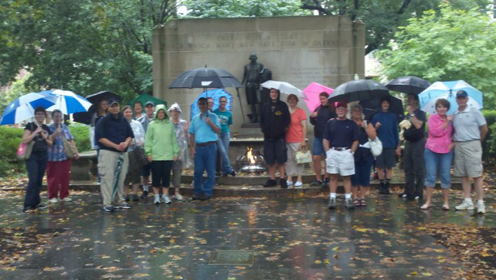 The diehard friday tour crew...given to a vote decided to rough it through the terential downpour!.jpg