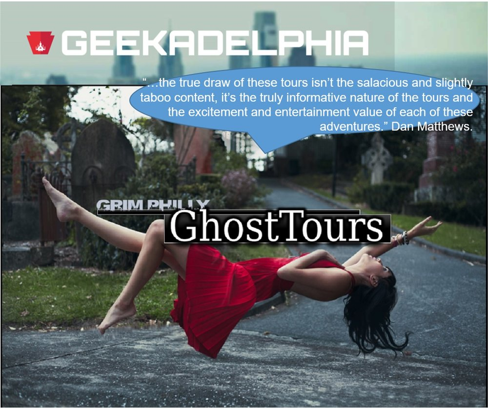 Geekadelphia Grim Philly Twilight Tours