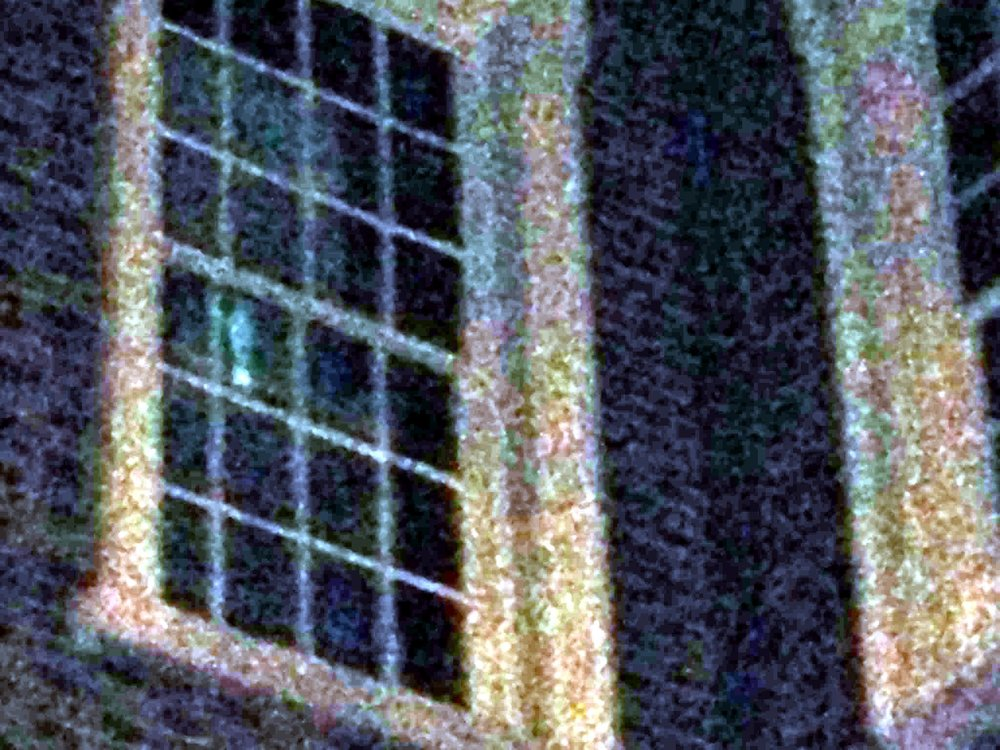 Photo taken by Kelley on the August Midnight Ghost Hunting Tour - Window at Carpenters Hall september 4 2013.jpg