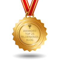 My blog was selected as one of top 25 feldenkrais blog on the internet 2018.