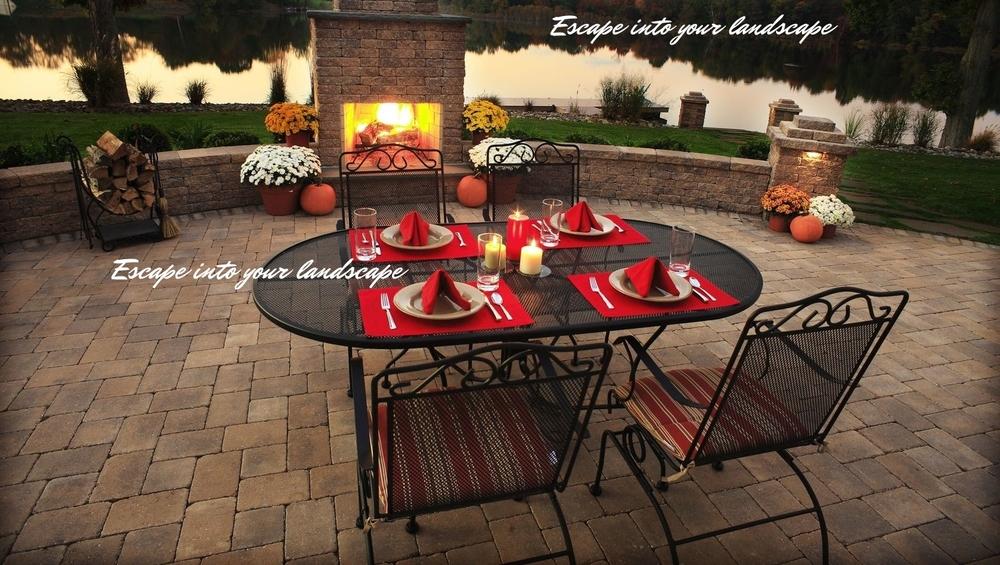 Darlington Designs, SJ Landscape Design, Fireplace, Patio, Outdoor Patio.jpg