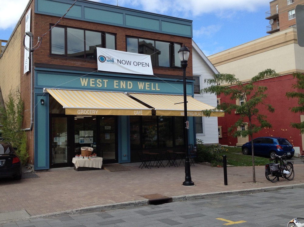 West End Well, Co-Operatively Run Shop, Chill-Out, and Dine-In Spot. Photo Cred.: The World Wide Web, by Denise Deby.