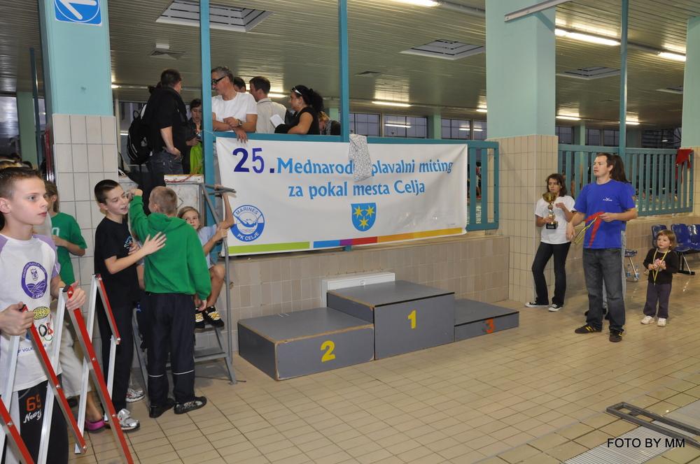 25. Mednarodni plavalni miting za pokal mesta Celje 2013 - 15.11.2013, Celje