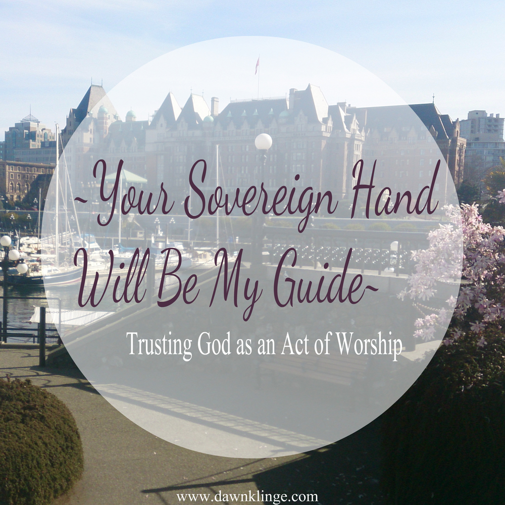 Your Sovereign Hand Will Be My Guide