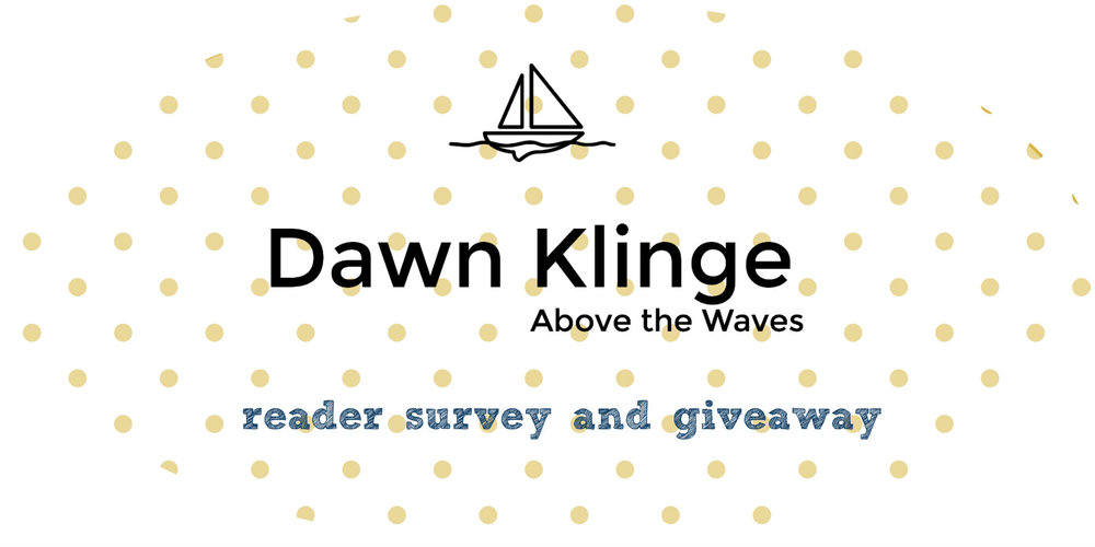 above the waves reader survey and giveaway