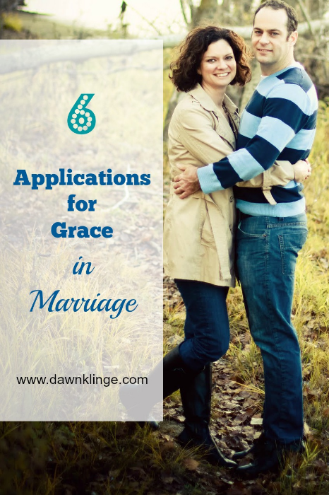 6 applications for grace in marriage