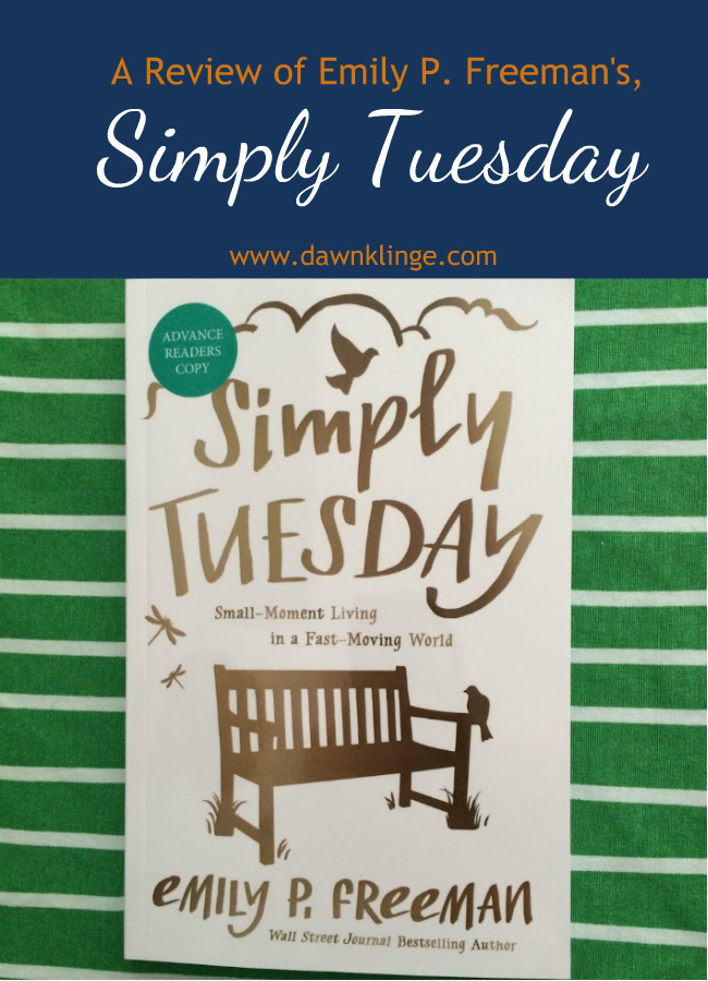 a review of Simply Tuesday by Emily P. Freeman