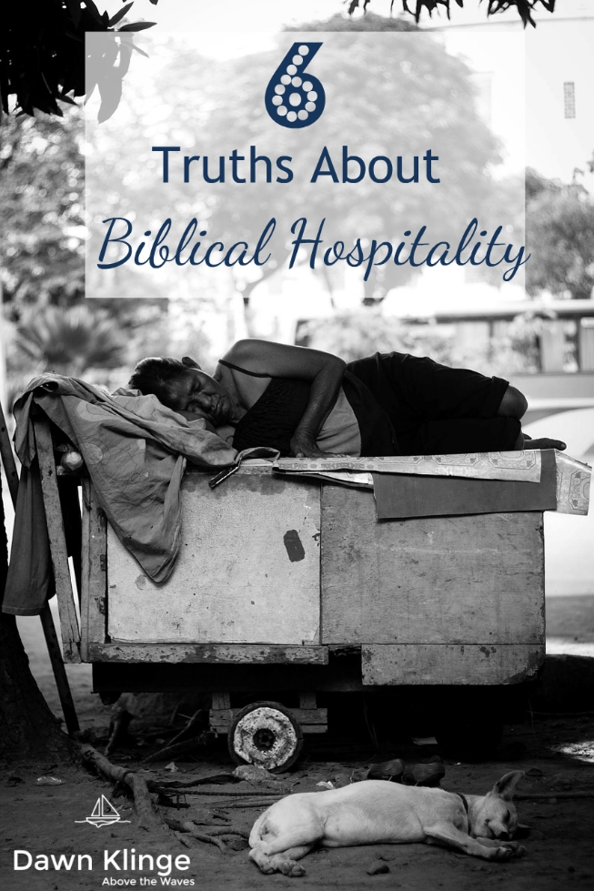 6 Truths about Biblical Hospitality