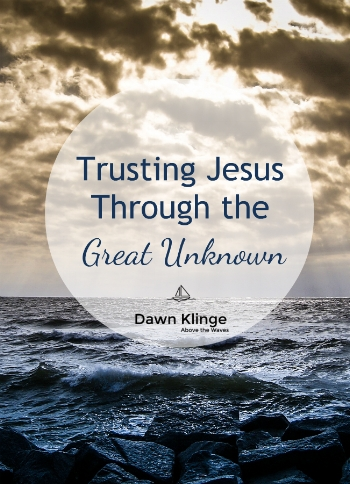trusting Jesus through the great unknown