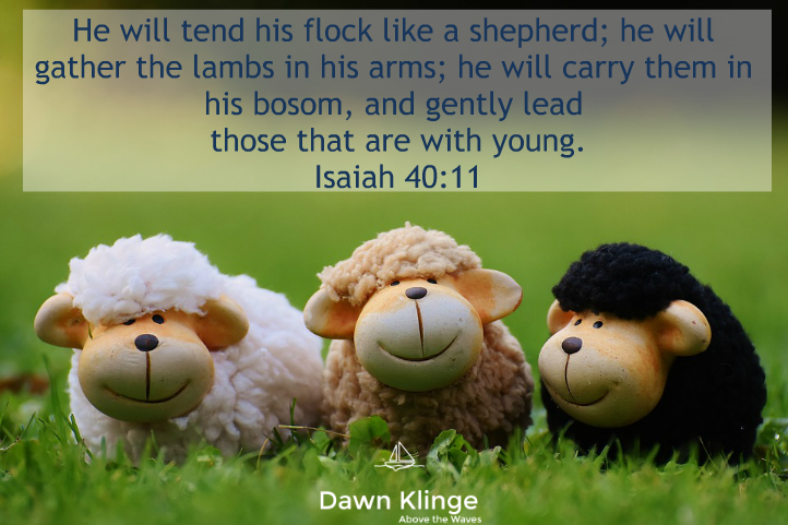 5 Qualities that Make Jesus the Good Shepherd — Dawn Klinge