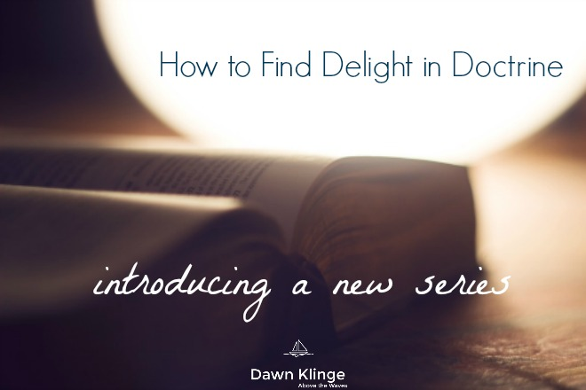 Facebook, delight in doctrine, intro