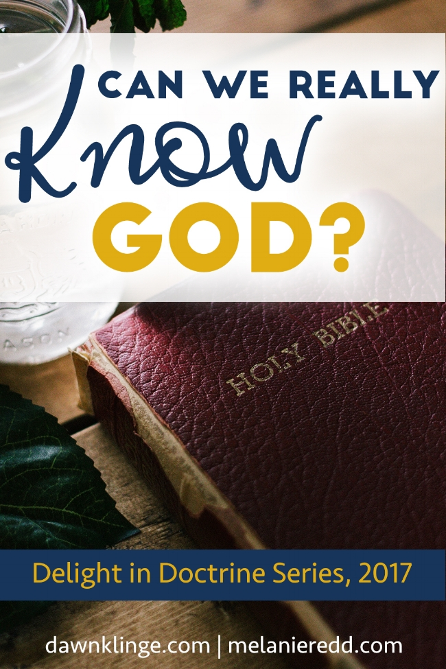 Can We Really KNOW God? | how to know God | Christian doctrine | what Christians believe | Above the Waves || #doctrine #knowinggod