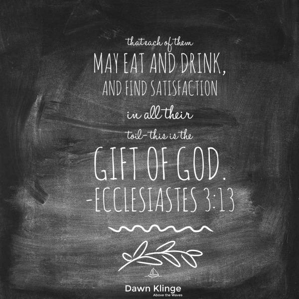 Ecclesiastes 3:13