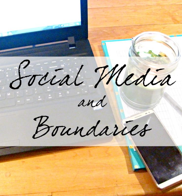 social media and boundaries
