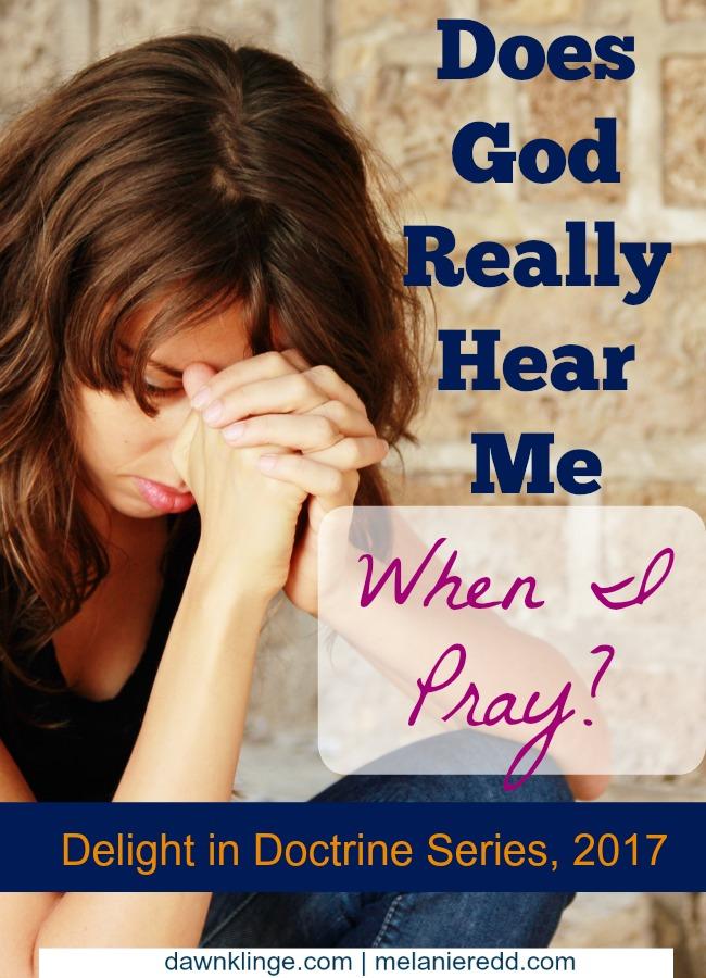 Does God hear when I pray? Christian prayer I how God answers prayer I Above the Waves II #prayer #christian