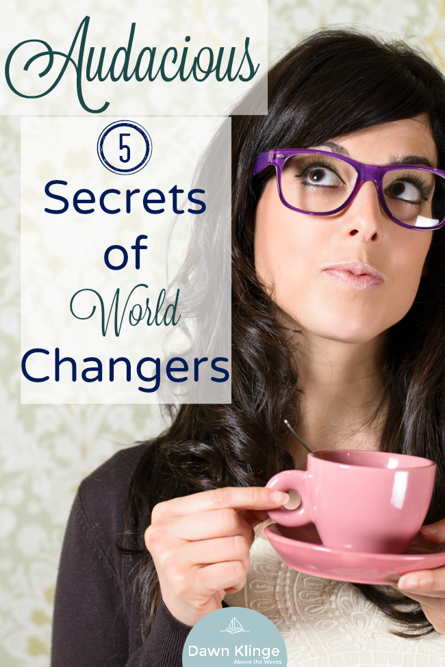 5 secrets of world changers