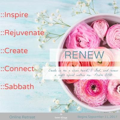 renew online retreat