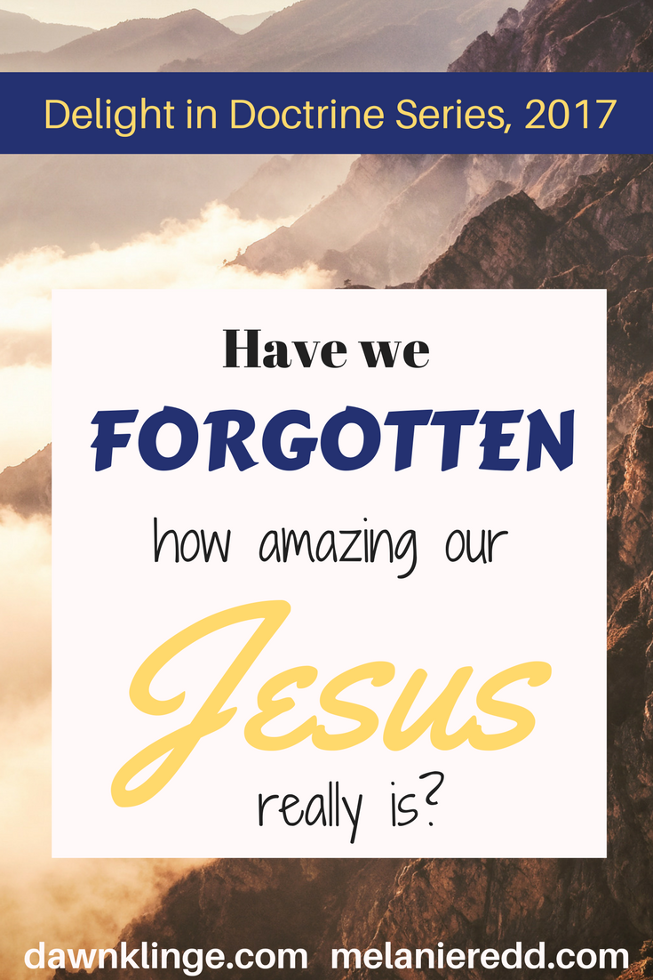 Have we forgotten how amazing our Jesus really is? #jesus