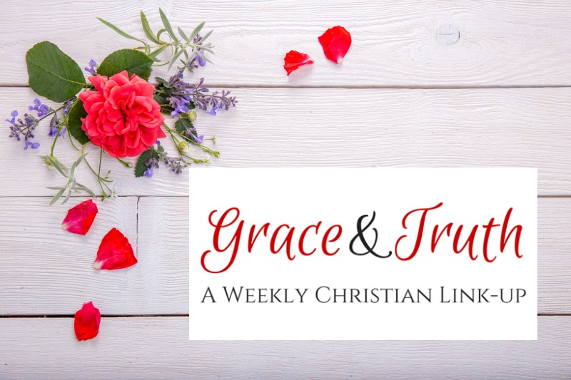 grace and truth Christian bloggers link-up