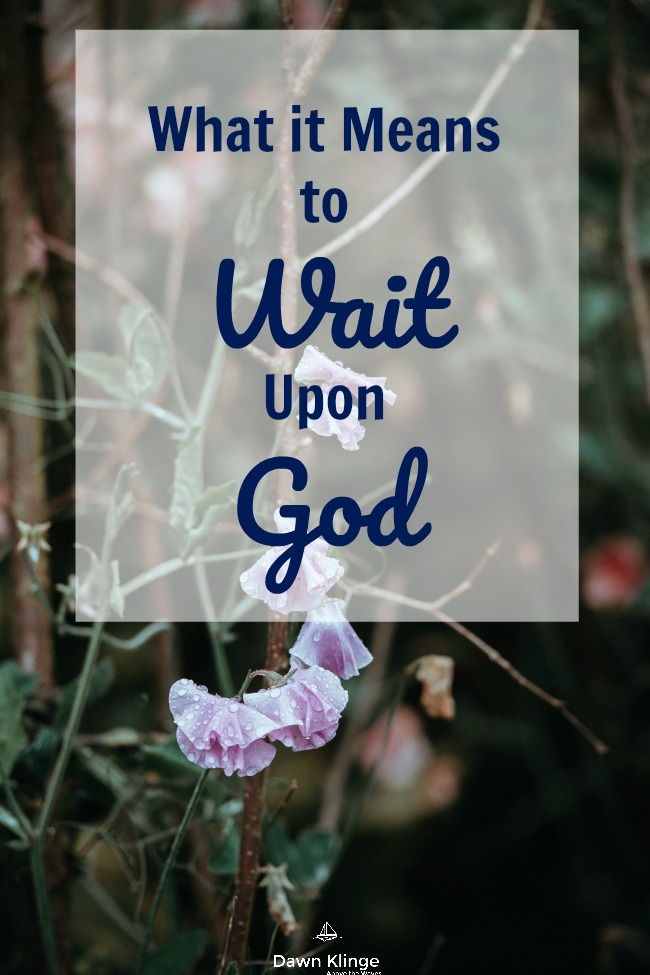 What it Means to Wait Upon God I how to trust God I Isaiah 40:31 I letting God take control I trusting Jesus I Christian devotion I Above the Waves II #trustgod #christiandevotion
