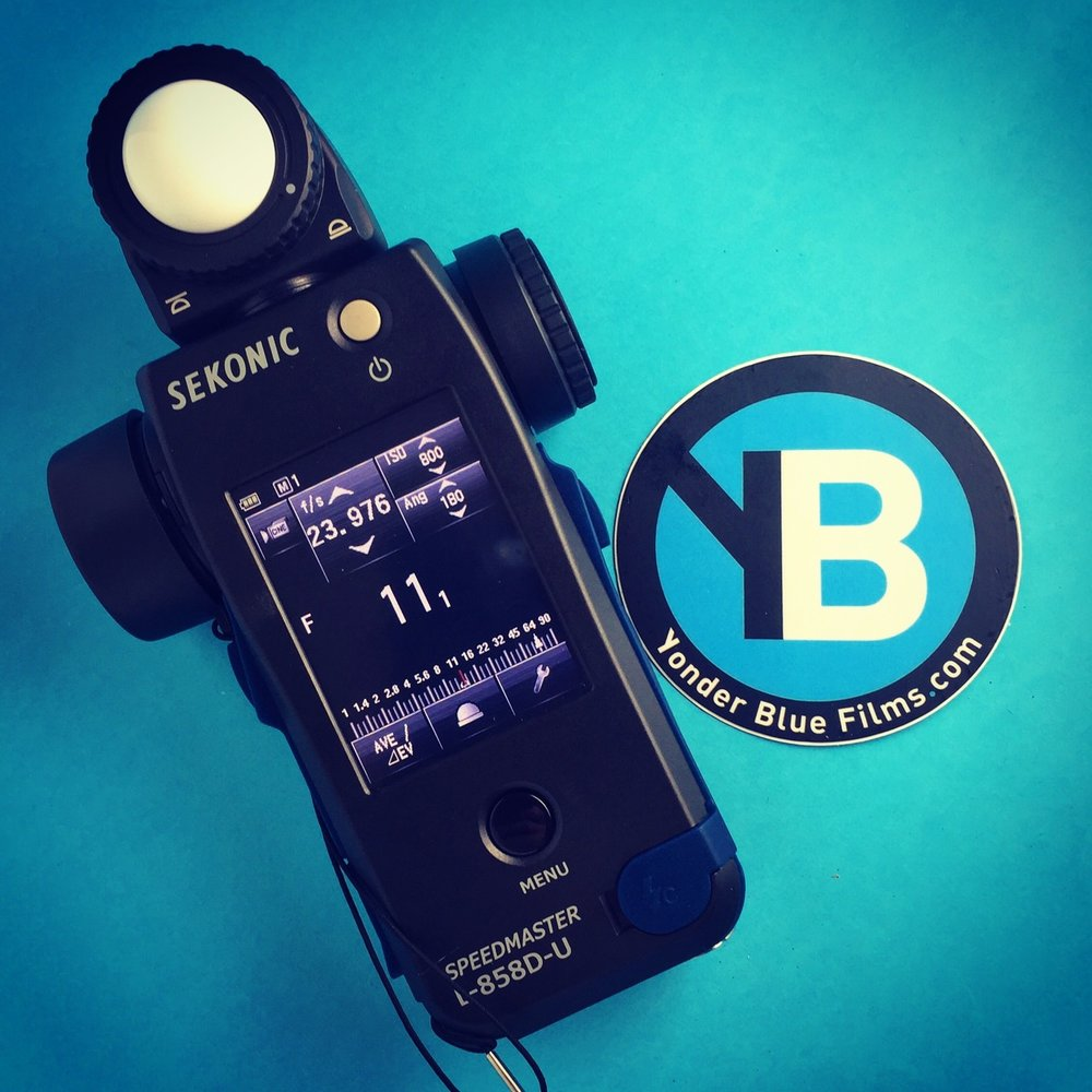 Our new light meter, courtesy of  Sekonic  and  planet5D .