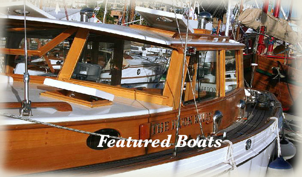 Read about our featured Classic Wooden Boats.