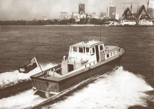 'Nemesis', named after the goddess of vengeance and retribution, she probably was the nemesis for the crooks and scallywags of Sydney Harbour and her exploits became quite legendary.