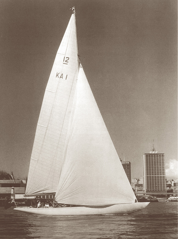 In 1962 the Halvorsen built, Gretel was the first Australian yacht to challenge the New York Yacht Club for the famed America's Cup. The defenders in Weatherly won the Cup.