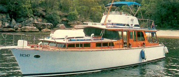Septima, brings back fond memories, for the editor, at Lake Eildon, during the seventies and eighties. She was owned by Mike Smith, of Nicholas, Aspro fame, who then sold her to Mike Emery, before her return to Sydney. Septima certainly stood out as the last classic wooden cruiser on the lake, apart from the late George Sheppard's San Michelle. We spent many weekends cruising and rafted up beside her on the lake.