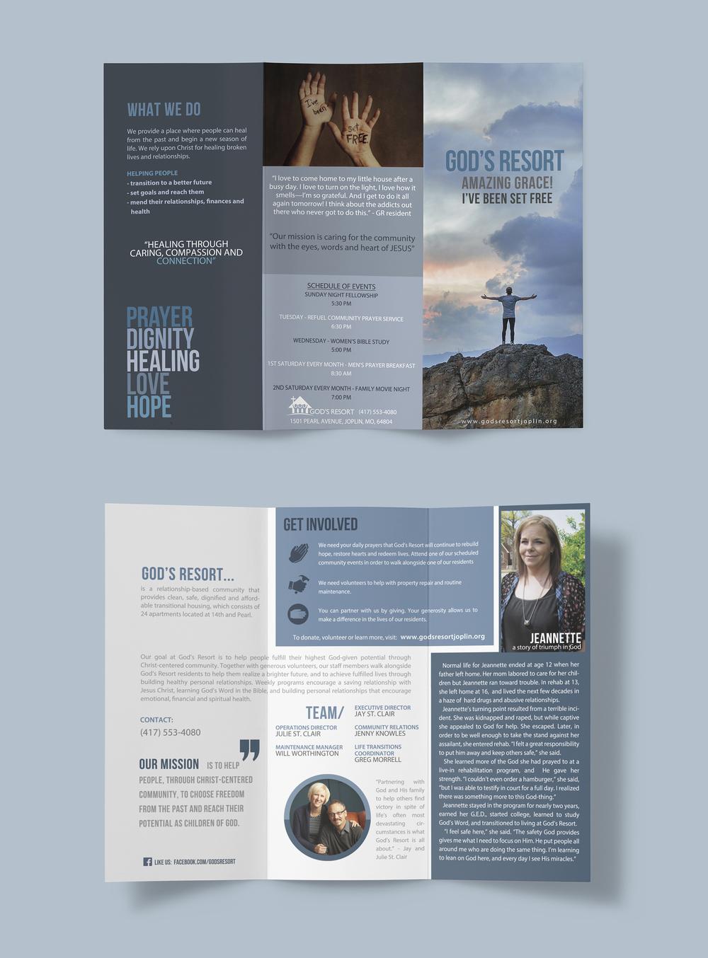 God's Resort brochure