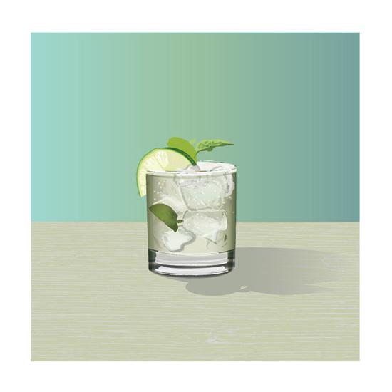 mojito digital illustration
