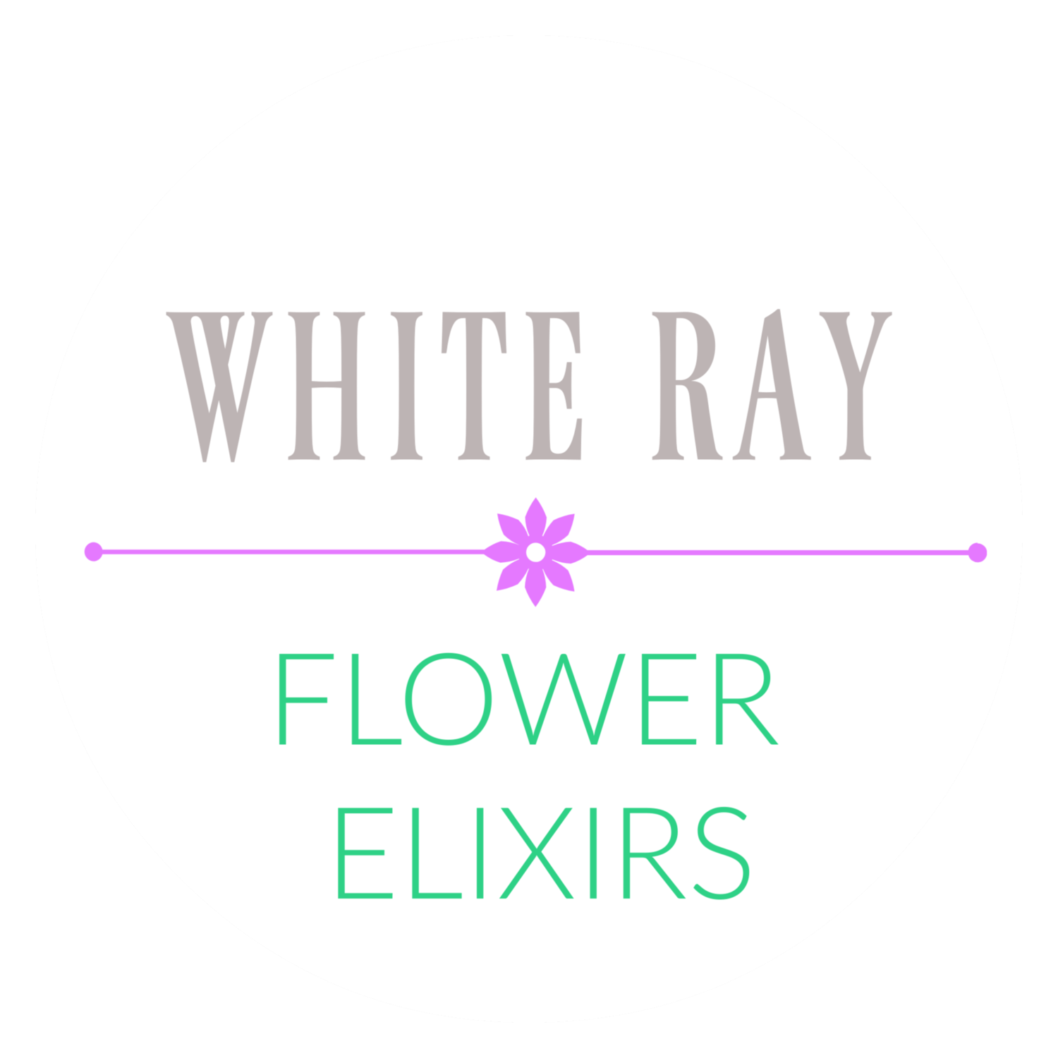 White Ray Flower Elixirs