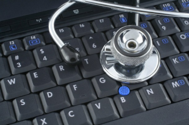 Creative Commons Stethoscope and Keyboard
