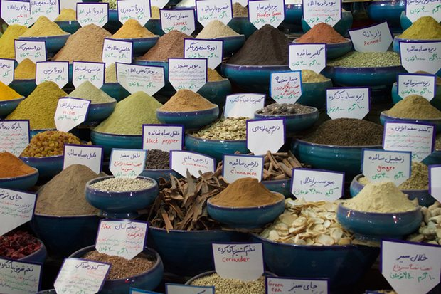 Iranians have long used traditional remedies to cure all kinds of ailments - pennyroyal to soothe, chicory to purify, marjoram to lift the spirits. But a rapid recent growth in traditional medicine has led to problems with regulation.  Persian herbs and spices on display at a market. Photograph: Antoine Pedro via Flickr