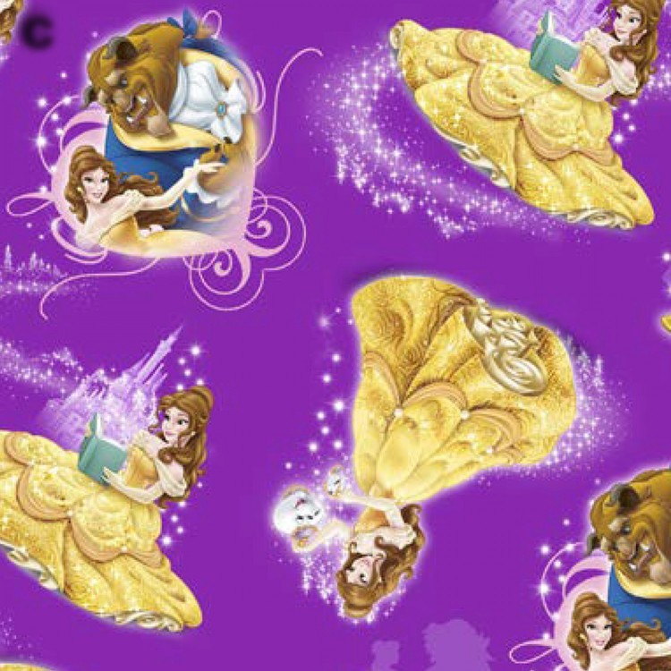 Disney Beauty & the Beast Belle Character Toss