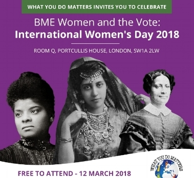 Join us to celebrate 100 years of Women gaining the vote this International Women's Day! Get your ticket  here