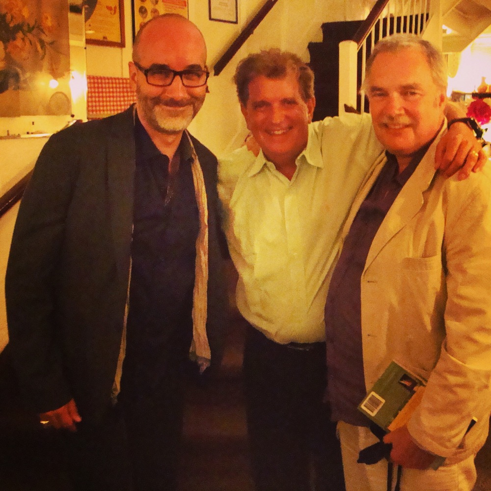 Dr. Tirch with his mentors, CBT master therapist Dr. Robert L. Leahy & CFT Founder, Professor Paul Gilbert, PhD, OBE