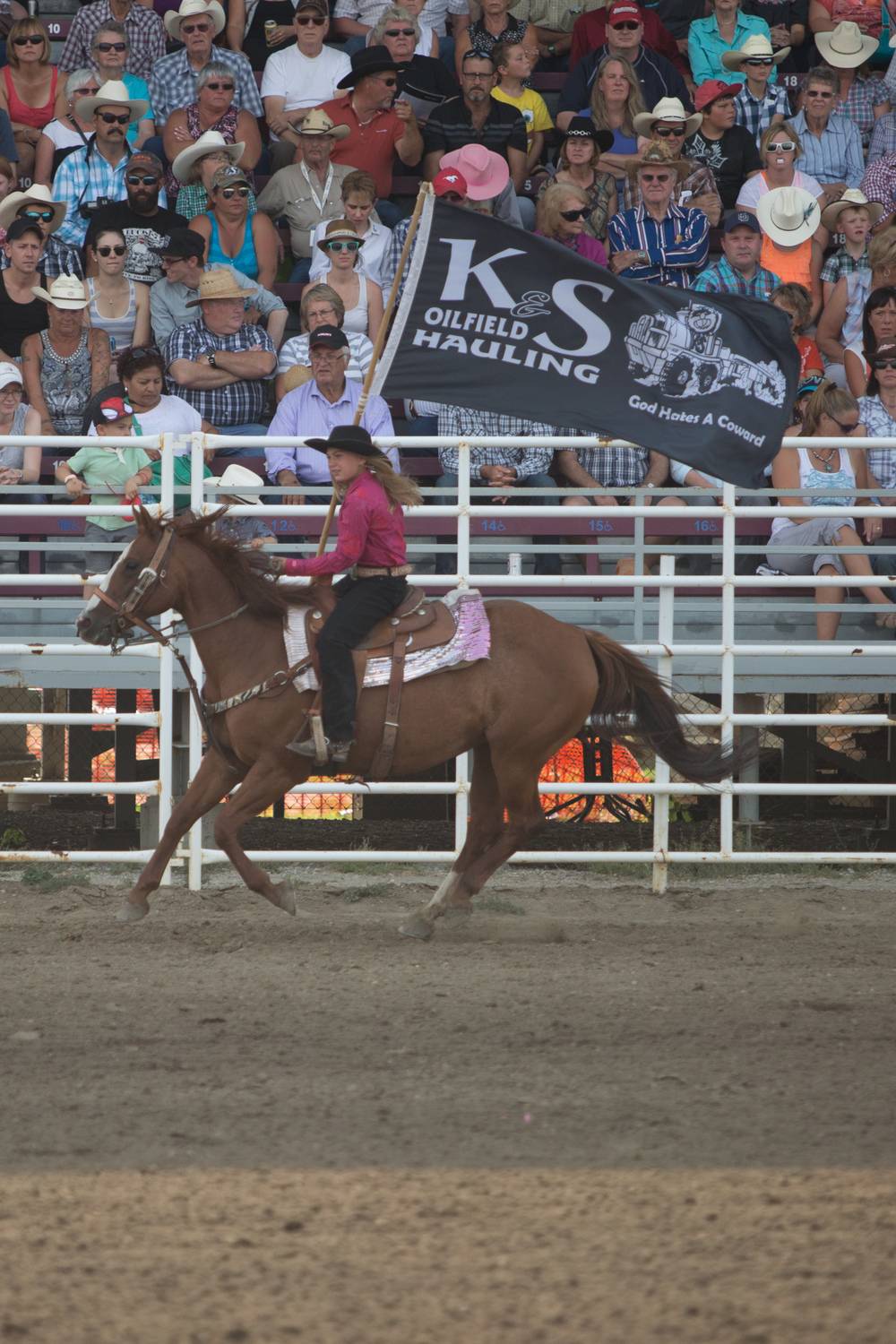 Thank you to  K & S Oilfield Hauling  for supporting the 2015 Strathmore Stampede.