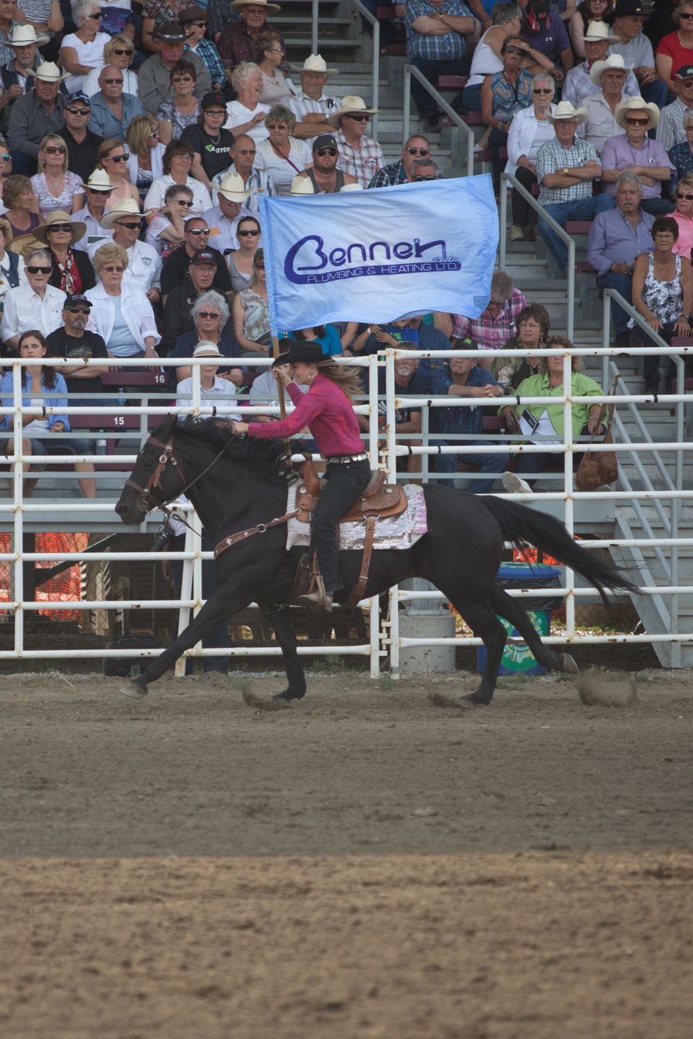 Thank you very much to  Benner Plumbing & Heating Ltd  for sponsoring the Rodeo Major Event - Bull Riding.