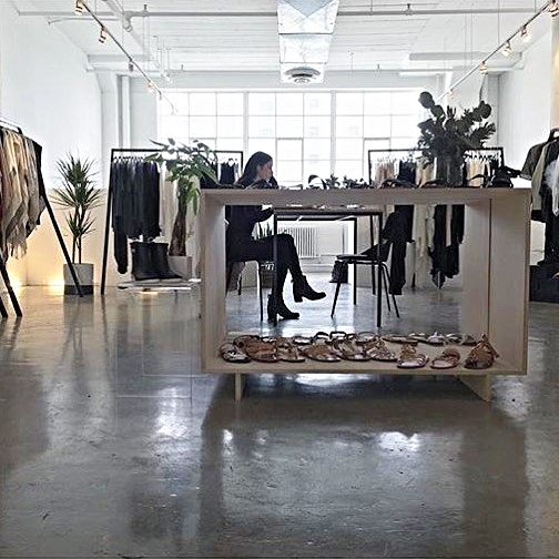 PHOTO BY ANDIE CASSETTE AT  BY LAND + SEA  SHOWROOM
