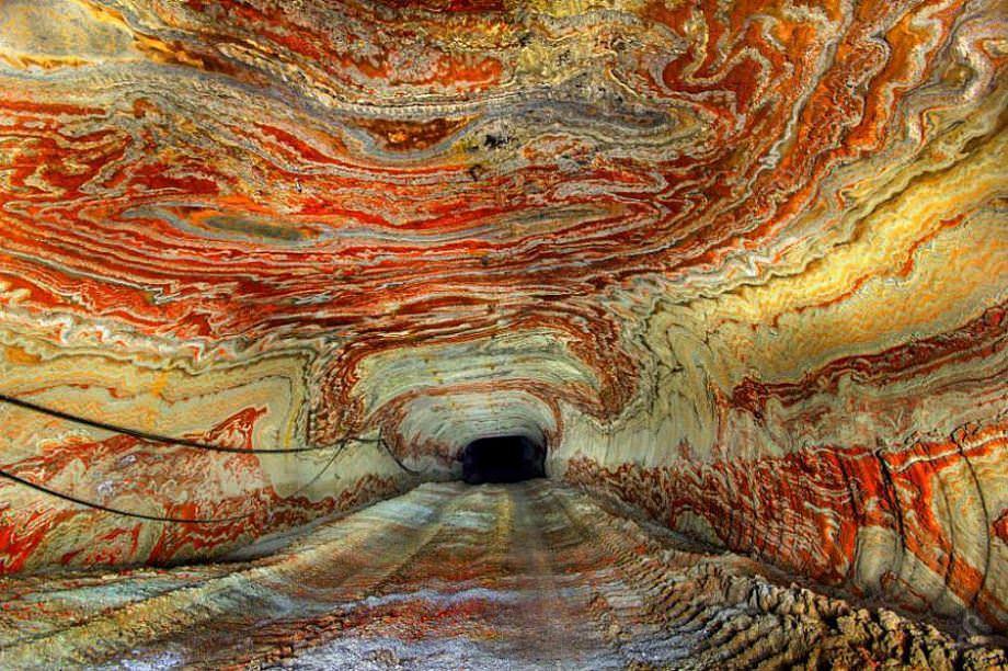 Mine in Yekatarina, Russia