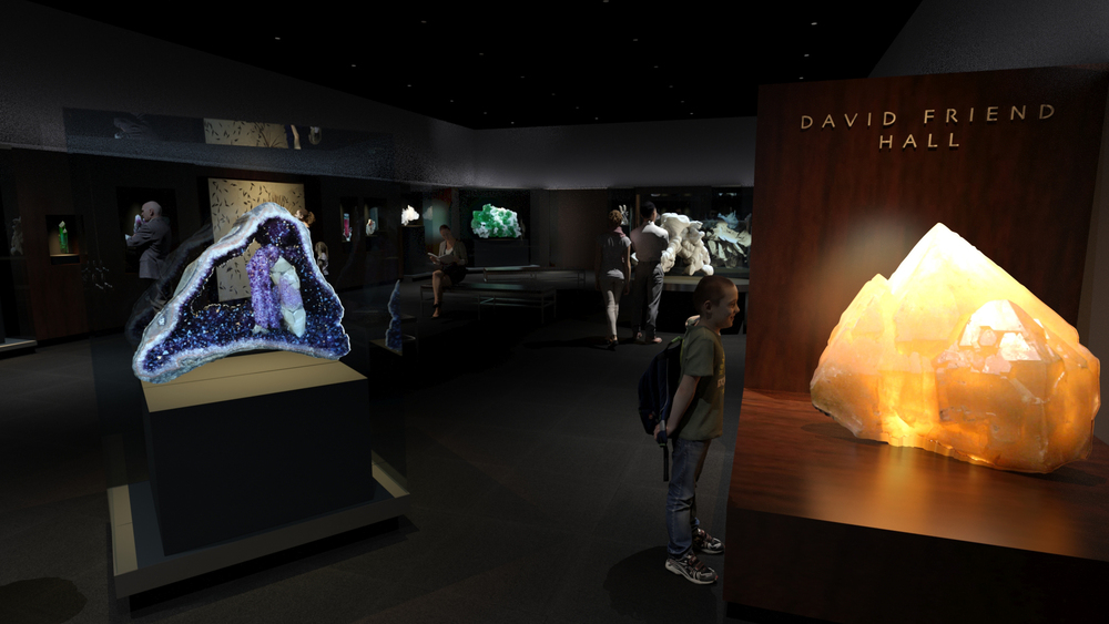 Artist rendering of the David Friend Hall. (Photo: Yale Peabody Museum)