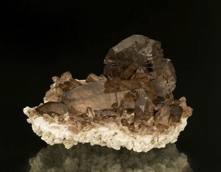 FEATURED SPECIMEN A very fine smoky quartz READ MORE »