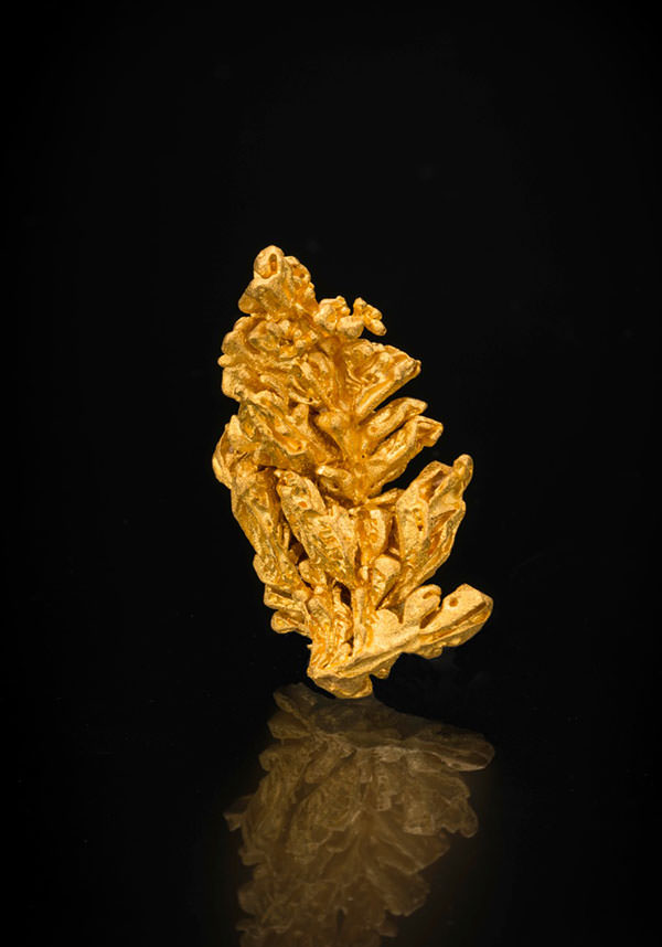 Gold, Pontes e Lacerda, Brazil, 3.5 x 2 cm, 16.58 grams. Price available upon request. (Photo: Mia Dixon)