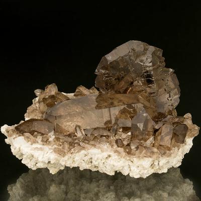 Smoky quartz from Switzerland