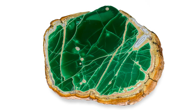 Variscite, Utah. (Photo: Orasa Weldon, © GIA)