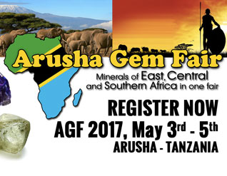 ARUSHA GEM FAIR In Tanzania this May READ MORE »