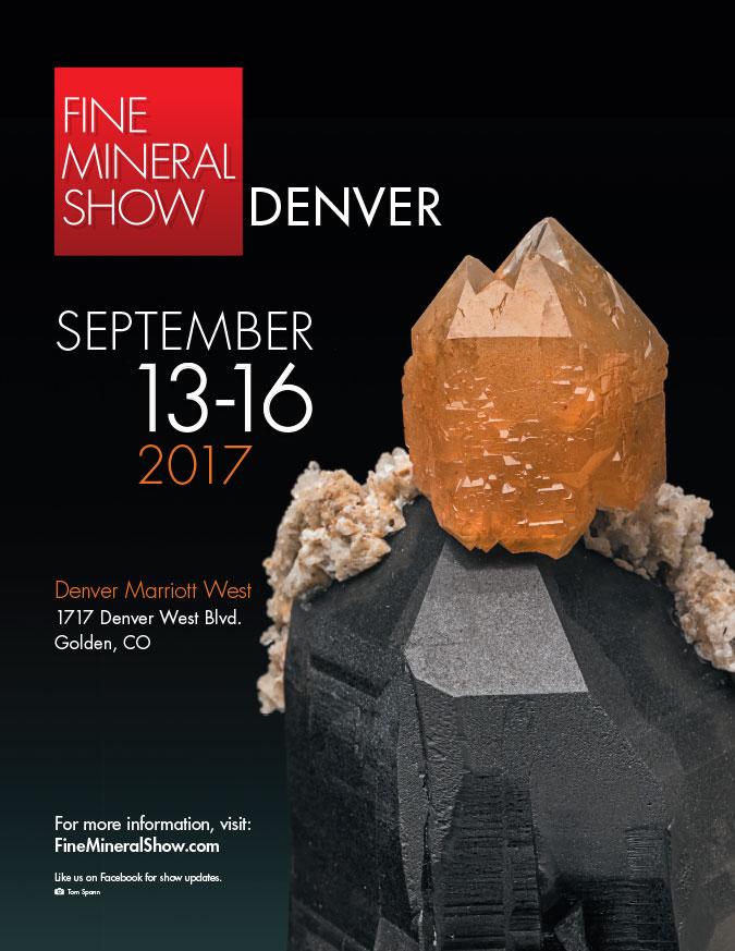 Denver Fine Mineral Show Poster